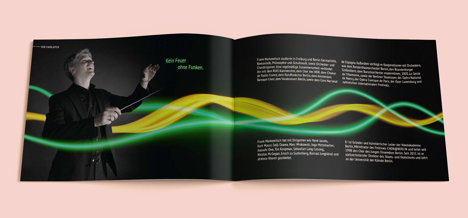 Idealist Publishing Imagebroschüre für JEB