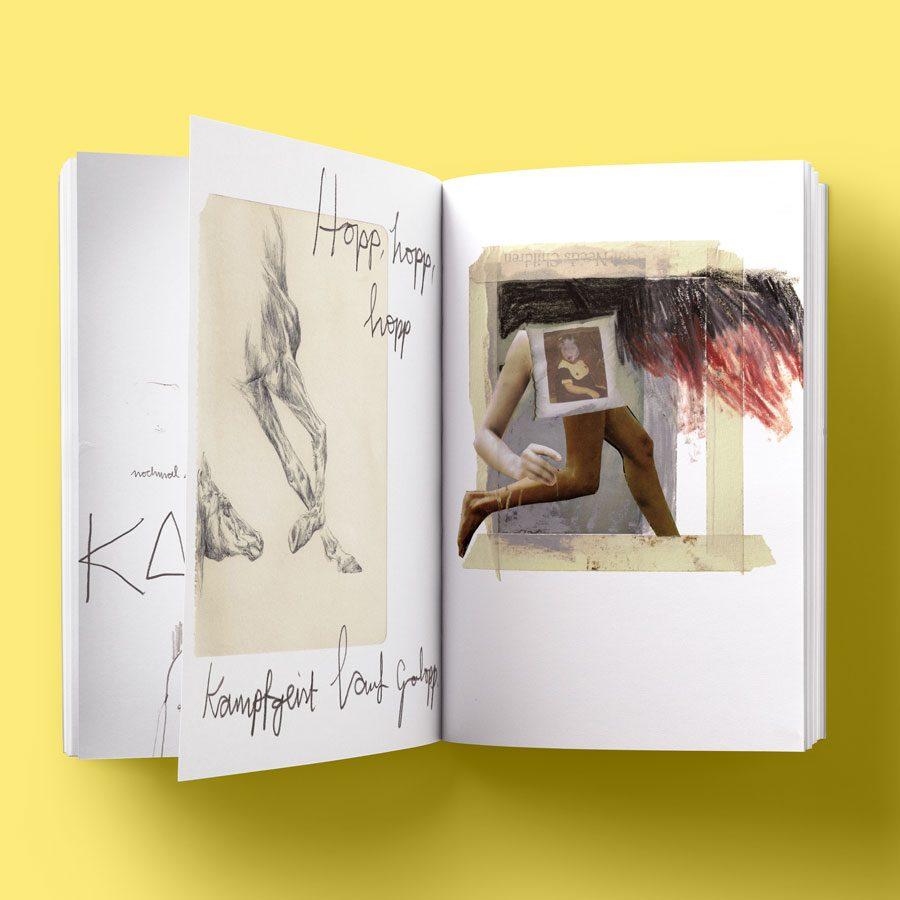 "Kunstbuch Idealist ""Kampfgeist"""